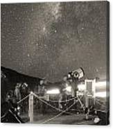 Mauna Kea Stargazing Canvas Print