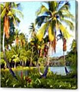 Mauna Lani Fish Ponds Canvas Print