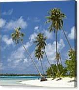 Maupiti Lagoon Canvas Print