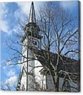 Mauricetown Church  Canvas Print