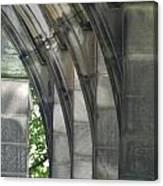 Mausoleum Arches Canvas Print