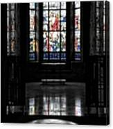 Mausoleum Stained Glass 05 Canvas Print