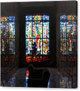 Mausoleum Stained Glass 07 Canvas Print