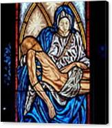 Mausoleum Window Canvas Print