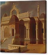 Mausoleum With Stone Elephants Canvas Print