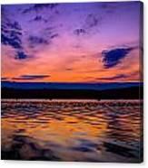 Mauthe Lake Canvas Print