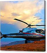 Maverick Helicopter Canvas Print