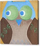 Maverick The Owl Canvas Print