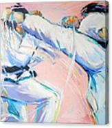 Mawashi Geri Canvas Print