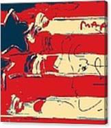Max Americana In Hope Canvas Print