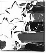 Max Americana In Negative Canvas Print