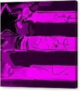 Max Stars And Stripes In Purple Canvas Print