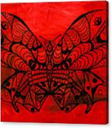 Max The Butterfly Canvas Print