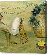 May Easter Joy Attend You Canvas Print