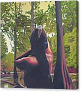 May Morning Arkansas River 5 Canvas Print