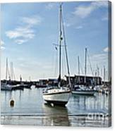 May Morning - Lyme Regis 2 Canvas Print