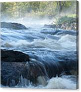 May Morning On The Pawcatuck Canvas Print