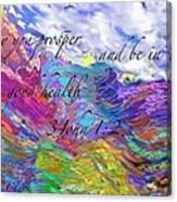 May You Prosper Canvas Print