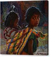Mayan Colors Canvas Print