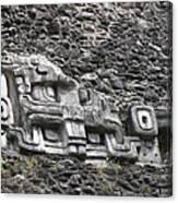 Mayan Hieroglyphics Canvas Print