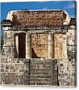 Mayan Palace Canvas Print