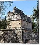 Mayan Ruin At Chichen Itza Canvas Print