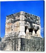 Mayan Ruins Canvas Print