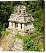 Mayan Temple Canvas Print