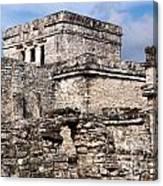 Mayan Tulum Canvas Print