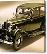 Maybach Car 6 Canvas Print