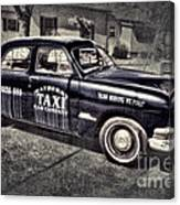 Mayberry Taxi Canvas Print