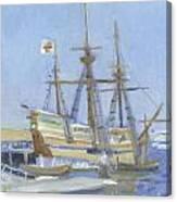 Mayflower At Birth Canvas Print