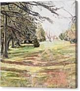 Maymont Landscape Canvas Print