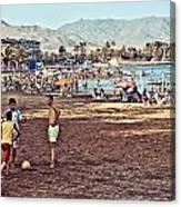 Mazarron Beach - Murcia Spain Canvas Print