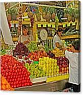Mazatlan Centro Market-sinaloa Canvas Print