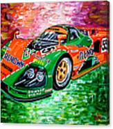 Mazda 787b.1991 Le Mans Winner. Canvas Print