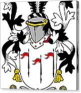 Mcalindem Coat Of Arms Irish Canvas Print