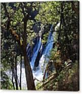 Mcarthur-burney Falls Side View Canvas Print