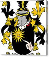 Mcbrady Coat Of Arms Irish Canvas Print