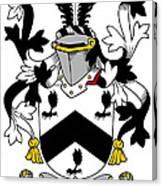 Mcbray Coat Of Arms Irish Canvas Print
