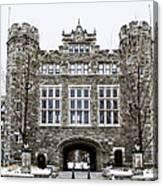 Mcbride Gateway - Bryn Mawr College Canvas Print