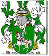 Mccaffrey Coat Of Arms Irish Canvas Print