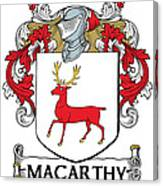 Mccarthy Coat Of Arms Cork Ireland Canvas Print