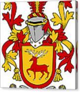 Mccartney Coat Of Arms Irish Canvas Print