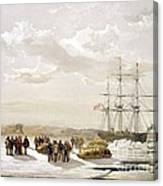 Mcclure Arctic Expedition, 1850s Canvas Print