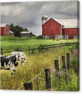 Mcclure Farm Canvas Print