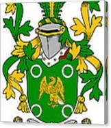 Mcconville Coat Of Arms Irish Canvas Print