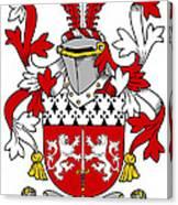 Mccorcoran Coat Of Arms Irish Canvas Print