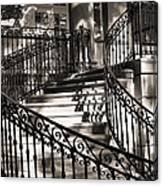 Mccormick Mansion Staircase Canvas Print
