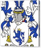 Mccrery Coat Of Arms Irish Canvas Print